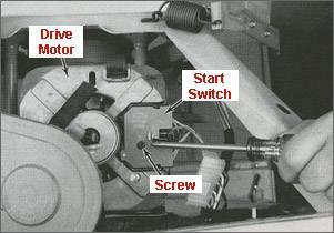 Kiểm tra thay thế động cơ chuyển mạch của máy giặt