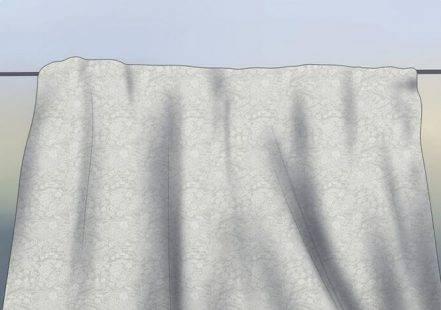 Hướng dẫn giặt rèm cửa dạng lưới