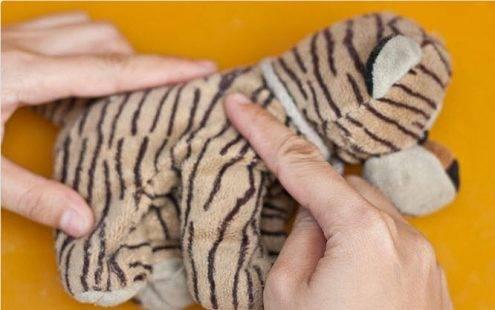 8 bước để giặt một thú nhồi bông trong máy giặt