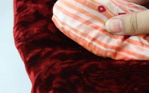 Làm thế nào để giặt vải nhung?