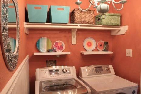 Không gian máy giặt sấy