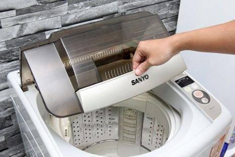 Máy giặt cửa trên làm việc như thế nào?