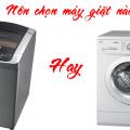 máy giặt cửa trước và cửa trên