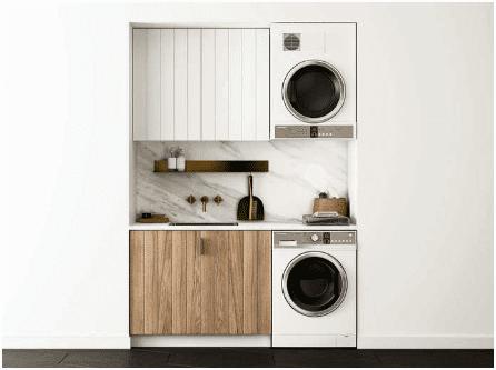 máy giặt gắn tường