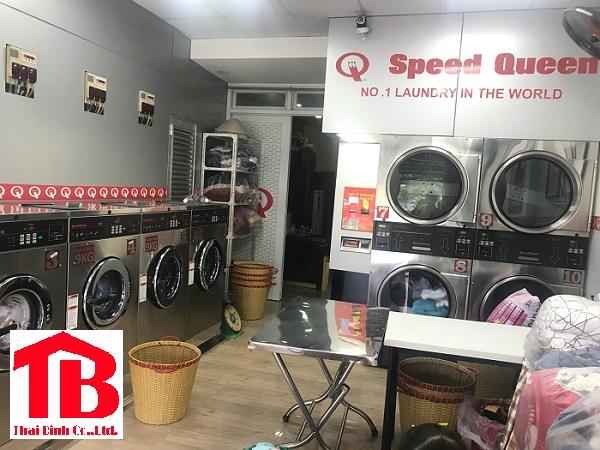 Tiệm giặt là dân sinh