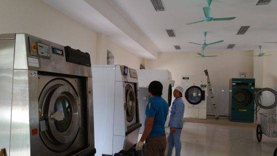 máy giặt công nghiệp tại Thái Bình