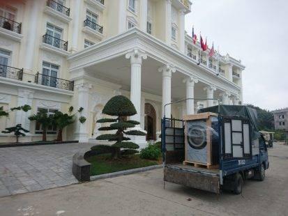 Dự án lắp đặt máy giặt công nghiệp tại khách sạn tại Hải Phòng