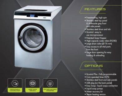 primus fx 280 - 3 mẫu máy giặt công nghiệp dùng cho khách sạn tốt nhất năm 2018