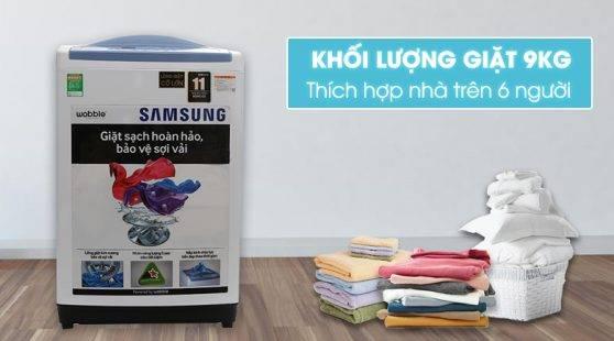 vi vn may gia samsung wa90m5120sw sv - [ Hỏi đáp ] Máy giặt Samsung 9kg giá bao nhiêu ?