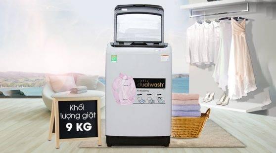 vi vn may giat samsung wa90j5710sg sv - [ Hỏi đáp ] Máy giặt Samsung 9kg giá bao nhiêu ?