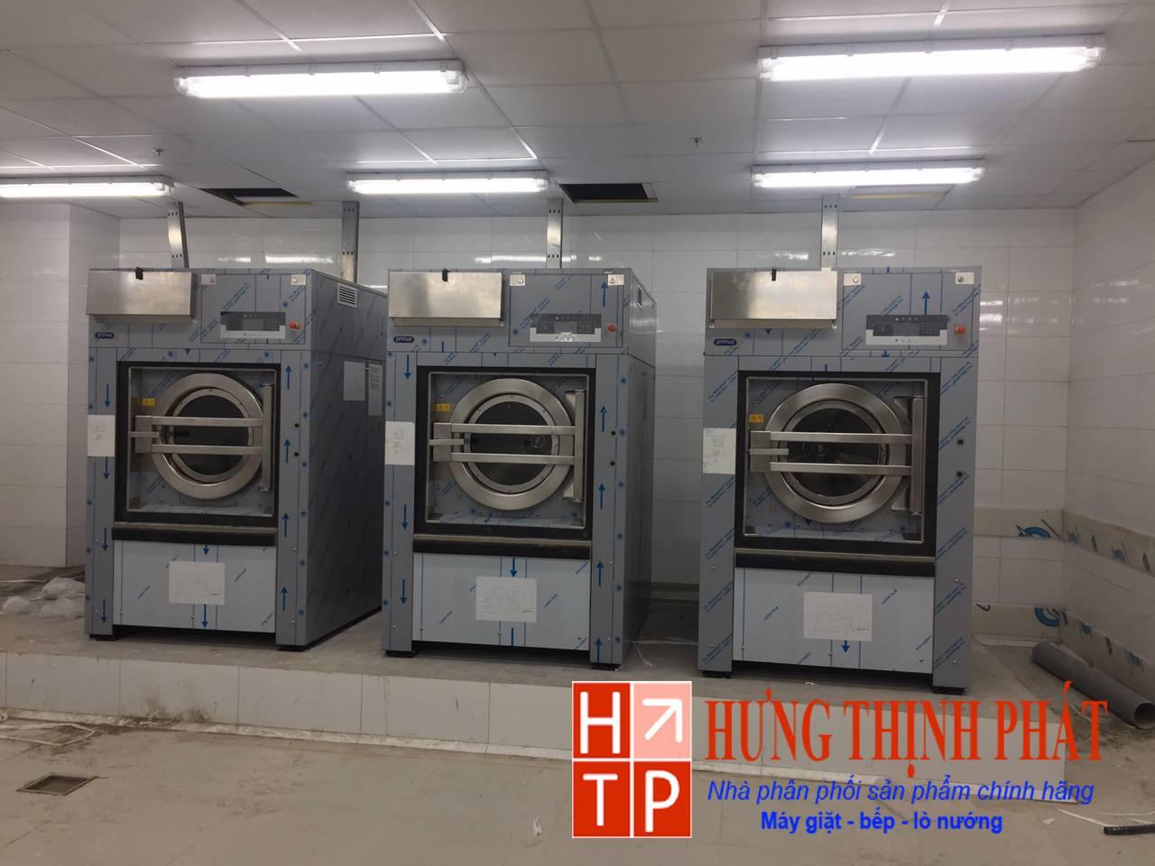 Dự án lắp đặt hệ thống giặt là tại sân bay Nội Bài – Hà Nội