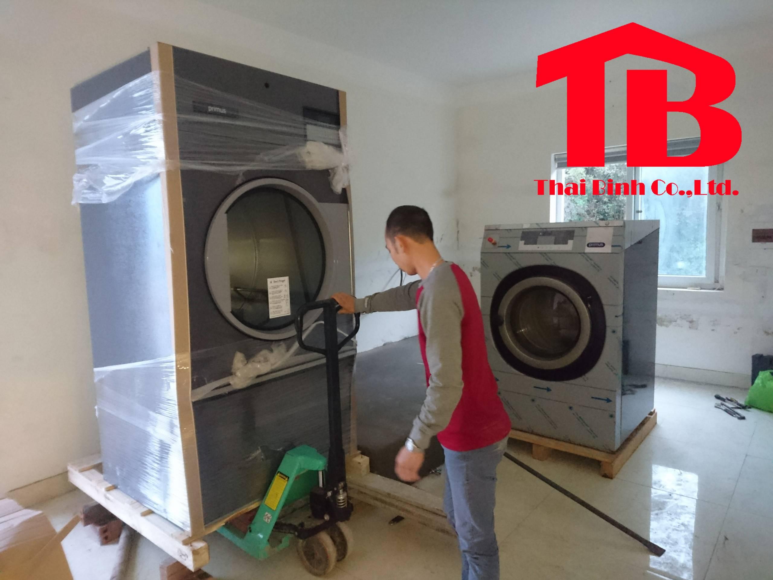 Dự án lắp đặt hệ thống giặt là tại Quảng Ninh