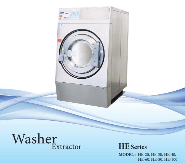 Máy giặt công nghiệp Image HE 80 – 38,5kg
