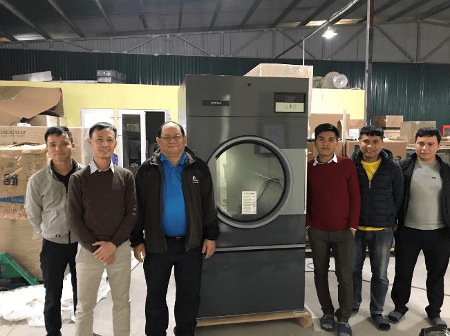 Máy giặt công nghiệp tại Đà Nẵng – Máy giặt nhập khẩu chính hãng