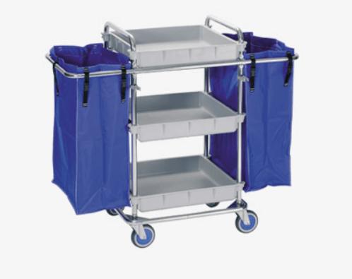 Xe day co tui vai - Tổng hợp các loại máy là trong giặt là công nghiệp - Thiết bị hoàn thiện