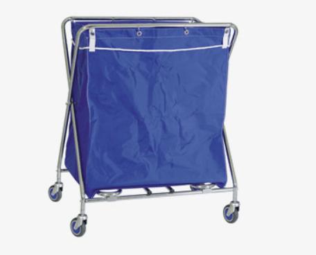 Xe day co tui vai 1 - Tổng hợp các loại máy là trong giặt là công nghiệp - Thiết bị hoàn thiện