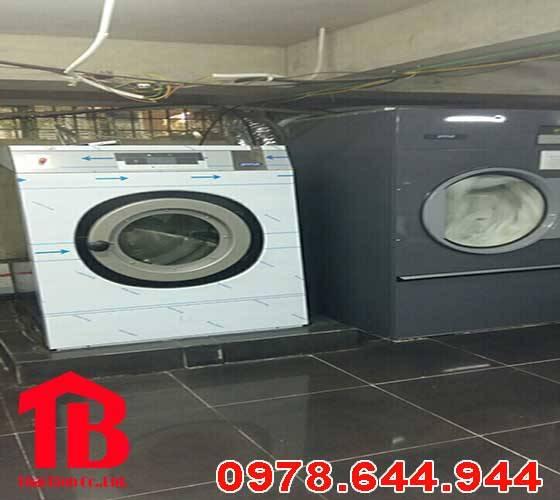 Dự án lắp đặt máy giặt công nghiệp cho khách sạn Rùa Vàng – Bắc Giang