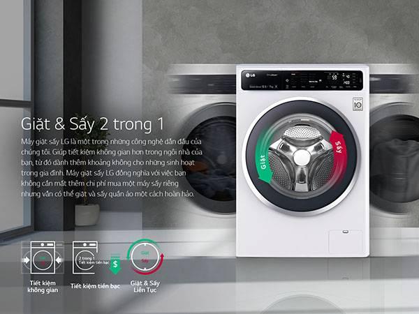 giat say 2trong samsung - Máy giặt sấy khô không cần phơi SamSung và 4 điều cần biết năm 2019