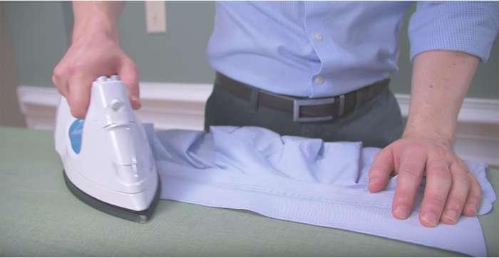 Hướng dẫn cách là áo sơ mi trong công nghiệp nhanh và phẳng
