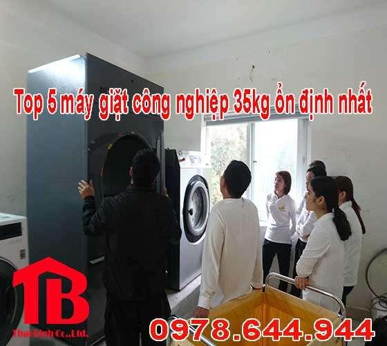 Top 5 giá máy giặt công nghiệp 35kg