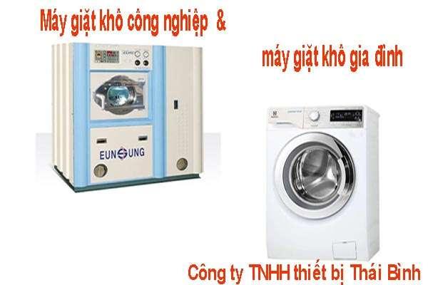may giat kho - Cách phân biệt máy giặt khô gia đình và máy giặt khô công nghiệp