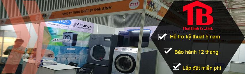 Triển lãm máy giặt công nghiệp