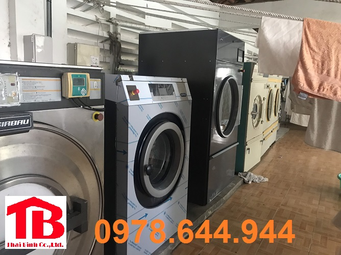 Lắp đặt hệ thống giặt là cho nhà máy đóng tàu Huyndai VinaShin