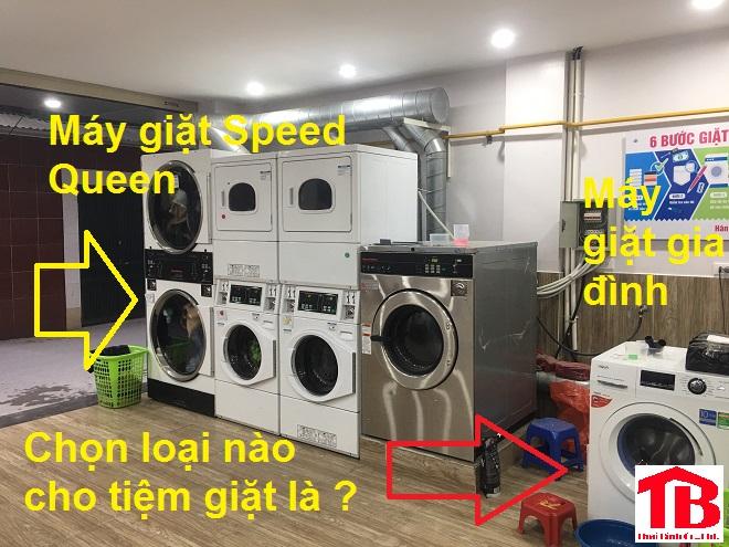 Máy giặt Speed Queen cho tiệm giặt là