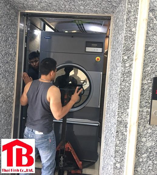 Lắp đặt máy giặt công nghiệp tại Phủ lý - Hà Nam