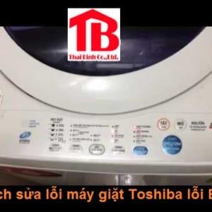 Máy giặt Toshiba lỗi E5