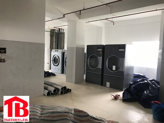 Dự án lắp đặt hệ thống giặt là cho khách sạn tại Quy Nhơn – Bình Định