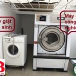 Máy giặt công nghiệp giá cao hơn máy giặt dân sinh