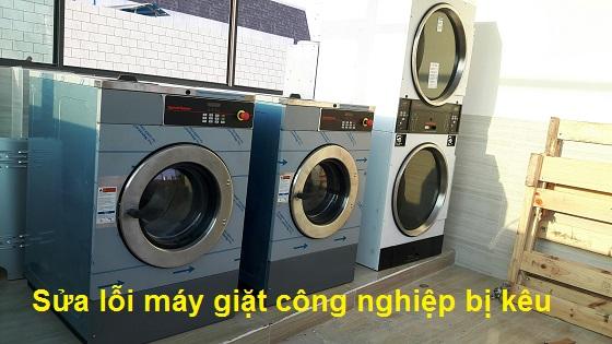 Máy giặt công nghiệp bị kêu nguyên nhân và cách khắc phục