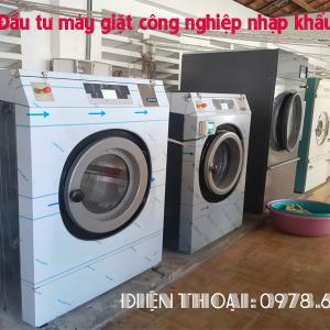 Doanh số tăng vọt khi đầu tư máy giặt công nghiệp nhập khẩu cho dịch vụ giặt là
