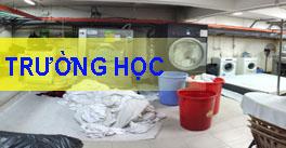 Máy giặt công nghiệp cho trường học