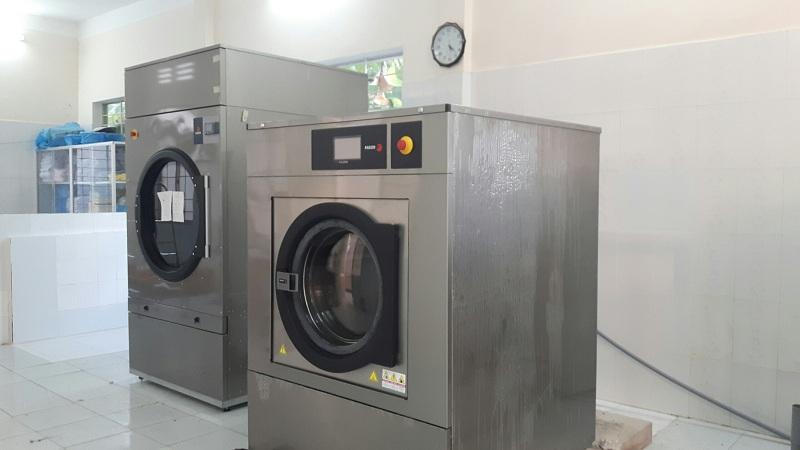 Máy giặt công nghiệp Fagor cùng máy sấy