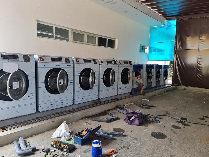 Chọn nhiệt độ nước chính xác cho giặt quần áo công nghiệp